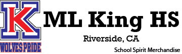 ML King HS Riverside Spirit Merchandise